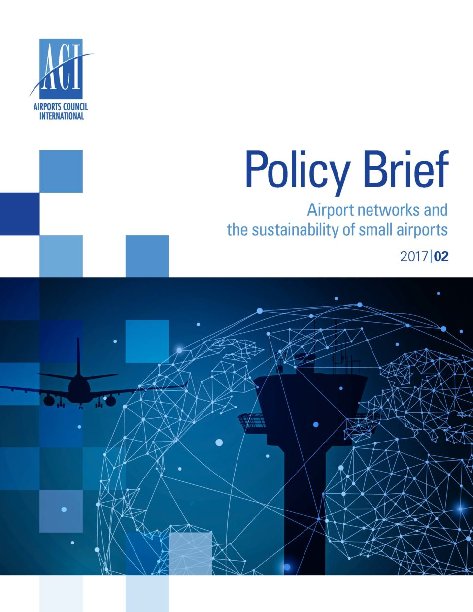 Policy Brief: Airport networks and the sustainability of small airports Cover Image