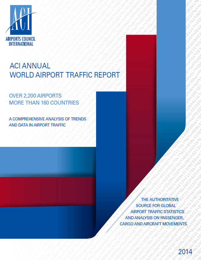 Annual World Airport Traffic Report, 2014 Cover Image