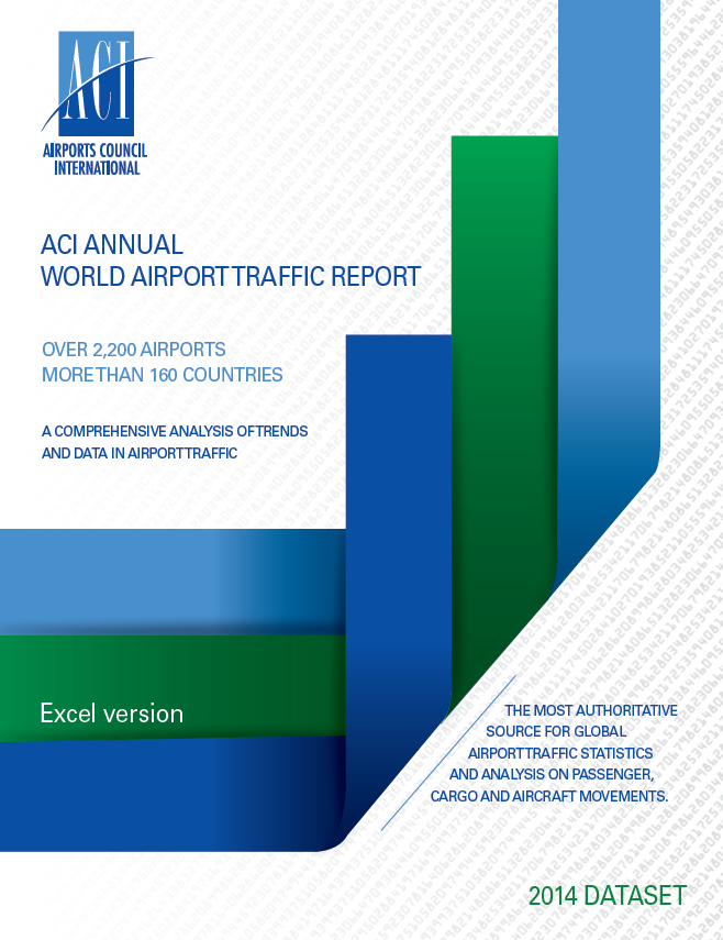 ACI Annual World Airport Traffic Report 2014 Cover Image