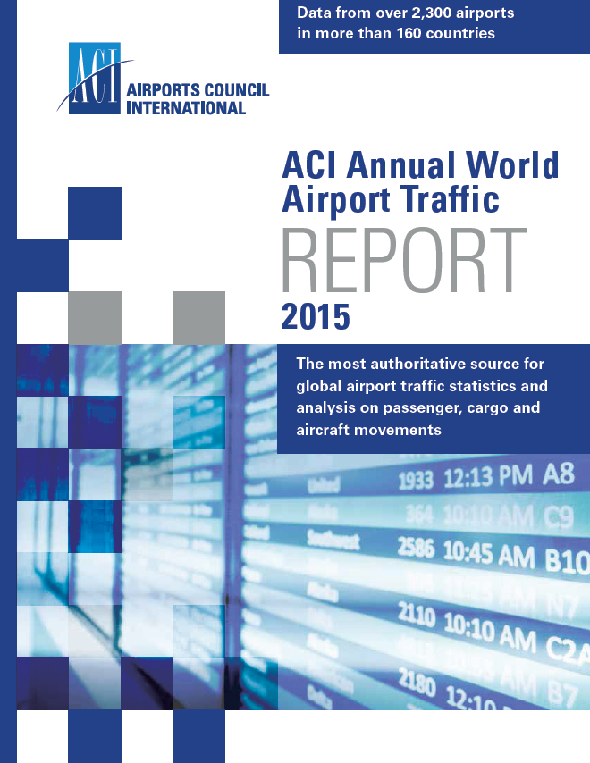 Annual World Airport Traffic Report, 2015