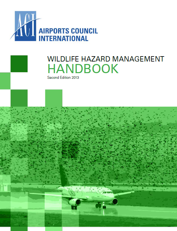 ACI Wildlife Hazard Management Handbook - Second Edition 2013 Cover Image