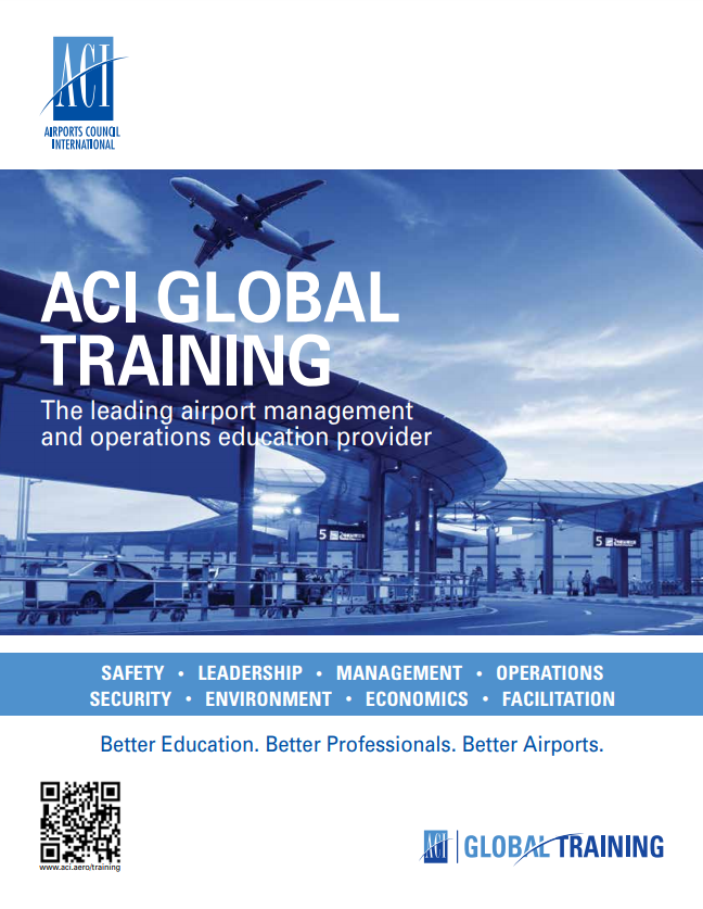 ACI Global Training Catalogue cover image
