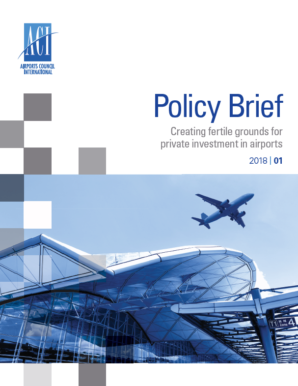 Policy Brief: Creating fertile grounds for private investment in airports cover image